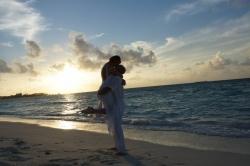 Maledivy romantická svatba