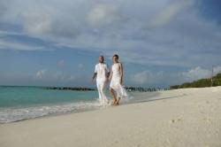 Maledivy svatba na pláži