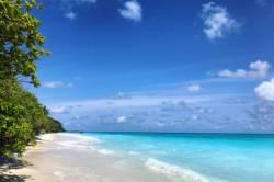 pláž-na-ostrově