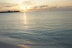focení na maledivské pláži