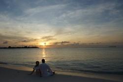 romantika na Maledivách