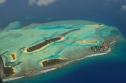 ostrovy Maledivy