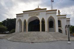 mešita na lokálním ostrově