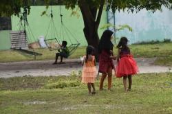 běžný život na lokálním ostrově