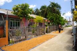 domy na lokálním ostrově