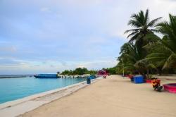 přístav lokálního ostrova