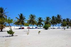 lokální ostrov Malediv - Gaafaru