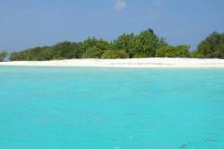 tropický ráj maledivy