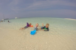 děti na dovolené