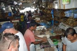 rybí trh Maledivy