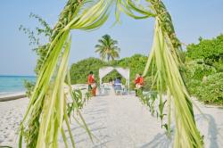 svatební obřad - ostrov Dhigurah