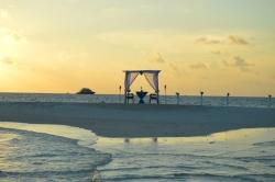 svatební obřad - ostrov Fulidhoo