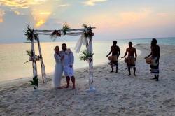 svatební obřad - ostrov Omadhoo