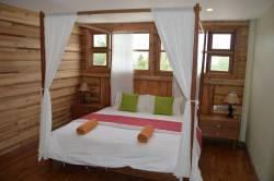 luxusní pokoj na Maledivách