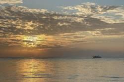 stmívání na Maledivách