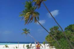 Pláž na ostrove Dhangethi