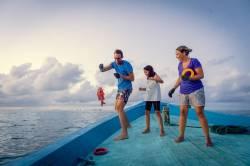 rybaření u ostrova Dharavandhoo