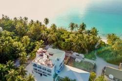 Hotel na ostrově Dhigurah