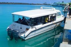 sdílený speedboat