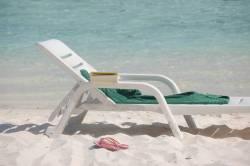 lehátko na pláži