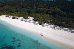 pláž na ostrově Feridhoo Maledivy