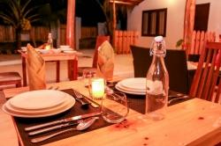 servírování večeře