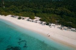 turistická pláž Feridhoo