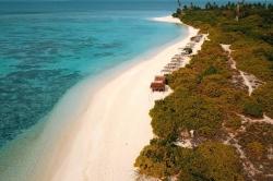 ostrov Feridhoo Maledivy