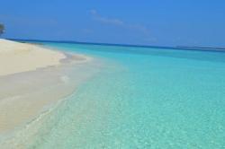 dovolená na pláži Malediv