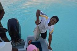 rybaření Maledivy - úlovek