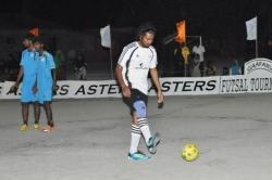 fotbalista na Maledivách