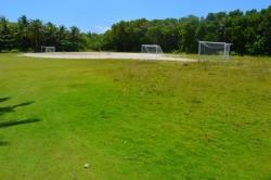 hřiště na fotbal na ostrově Fodhdhoo