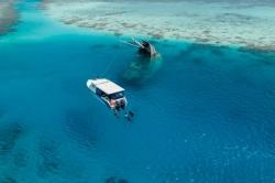 výlet k vraku Maledivy