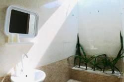 koupelna, zrcadlo