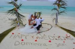 Svatba Maledivy