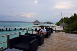 Maledivy - venkovní posezení