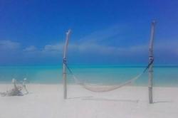 pláž na ostrově Gaafaru