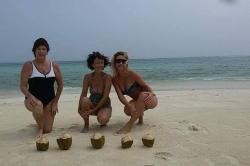 ženy na pláži