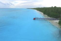 molo z dronu