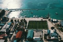 přístav ostrov Huraa