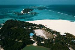 pláž na ostrově Huraa