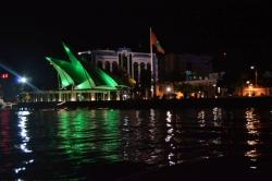 hlavní Město Malediv v noci