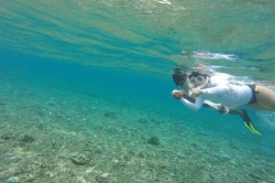 Ivanka šnorchluje s Mustafou