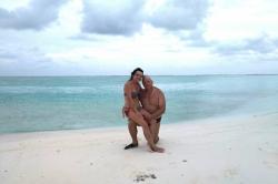 Dovolená na Maledivách - na pláži ostrova Huraa