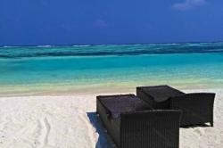 Dovolená na Maledivách - pláž