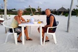 Jana s Mirkem na pláži