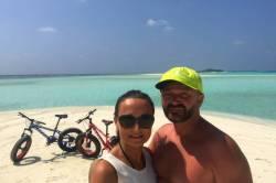my dva na Maledivách