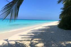 moře na Maledivách