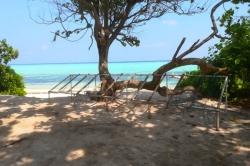 tradiční posezení Maledivy