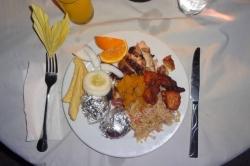 Dovolená na Maledivách - večeře